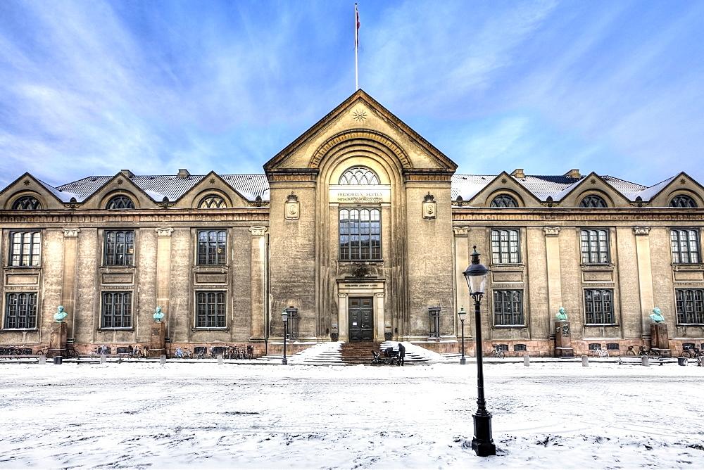 The main building of Copenhagen University, Copenhagen, Denmark, Europe