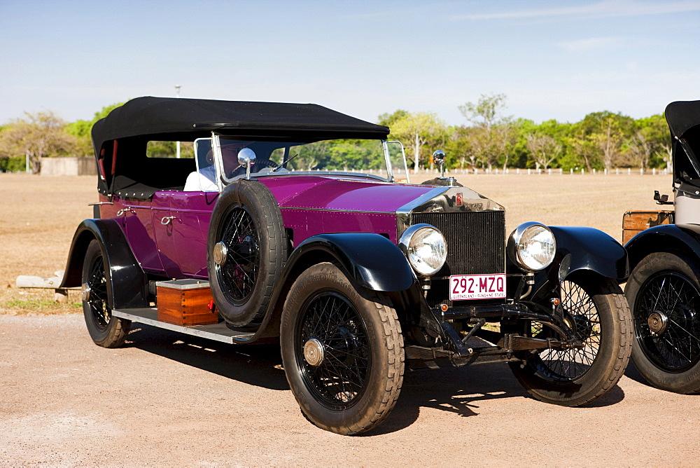 Vintage car, Darwin, Northern Territory, Australia
