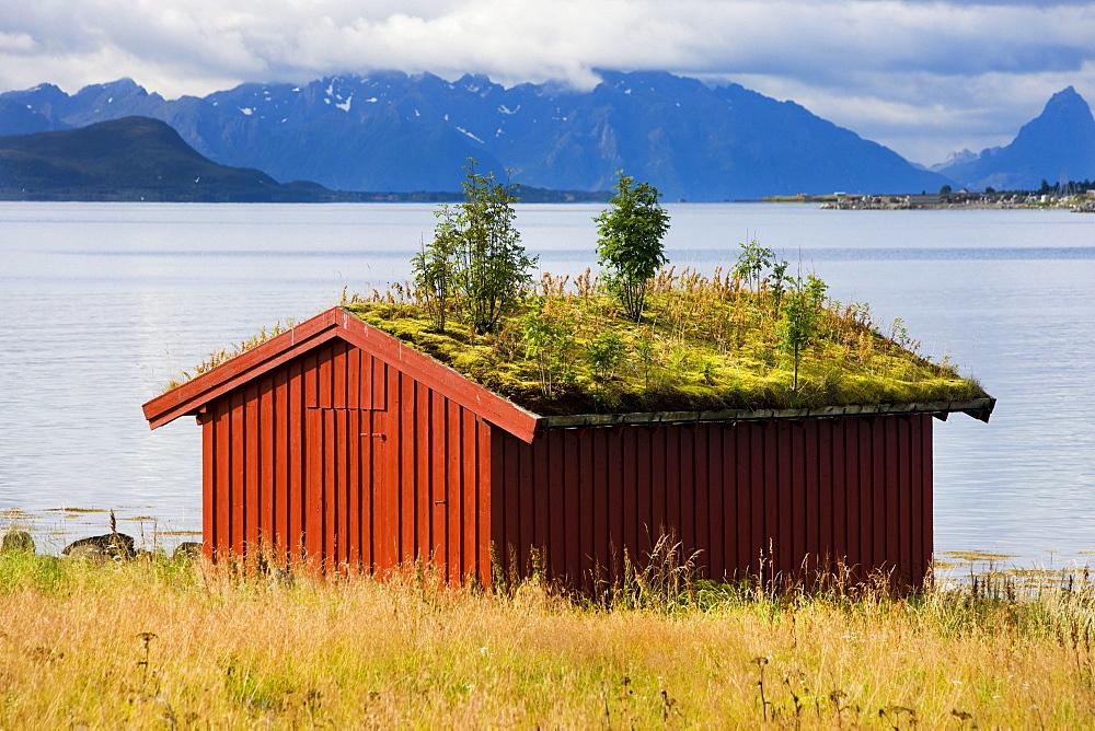 Sortland, island of Langoya, Vesteralen, Norway, Scandinavia, Europe