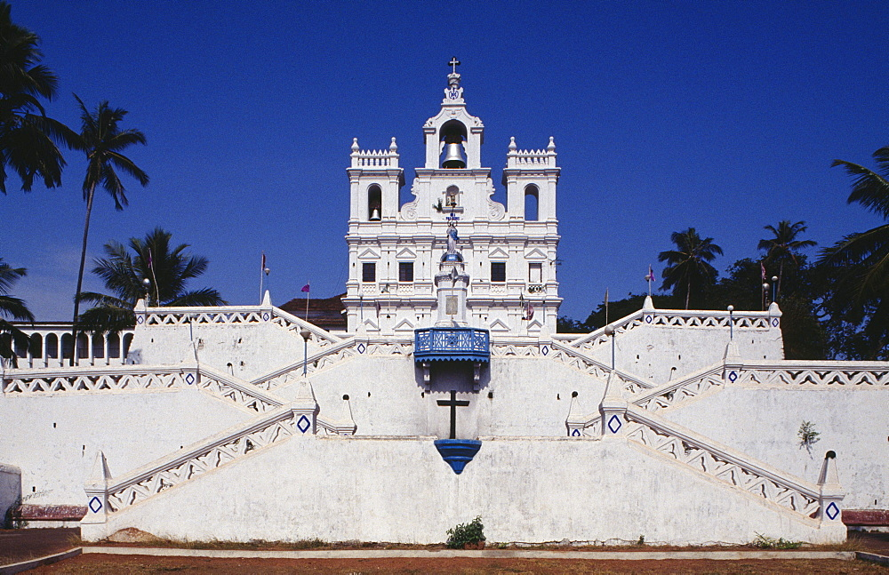 Our Lady of the Immaculate Conception Church in Panaji, Goa, India, Asia