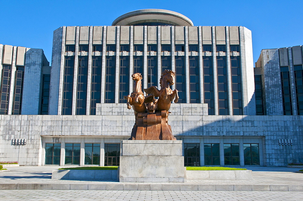 Children's Palace, Pyongyang, North Korea, Asia