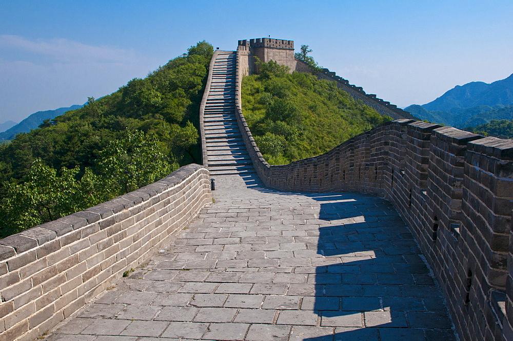 Great Wall of China at Badaling, China, Asia - 832-115199