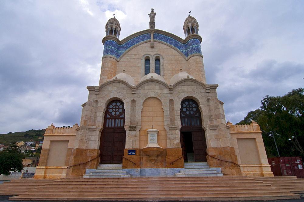 Basilica of Notre-Dame d'Afrique, Algiers, Algeria, Africa