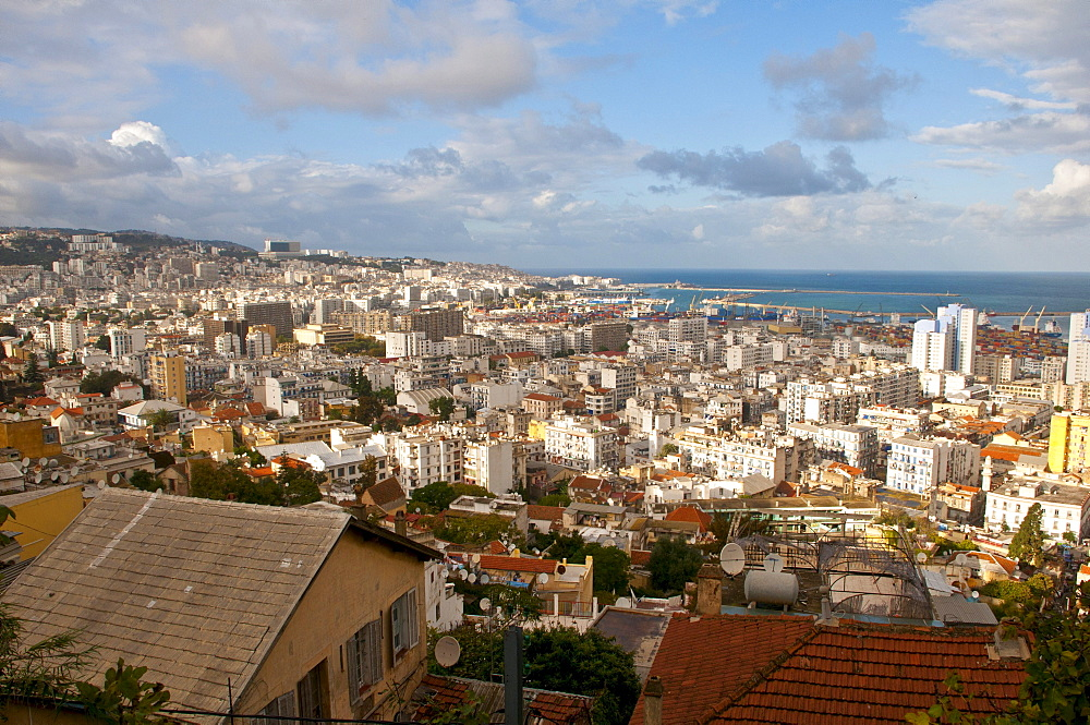 View over Algiers, Algeria, Africa