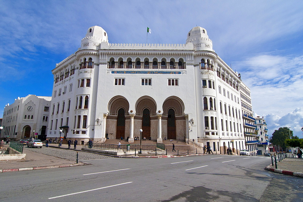 The old post office in Algiers, Algeria, Africa