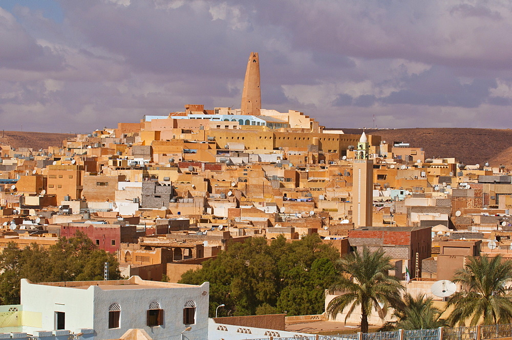 Village of Ghardaia in the UNESCO World Heritage Site of M'zab, Algeria, Africa