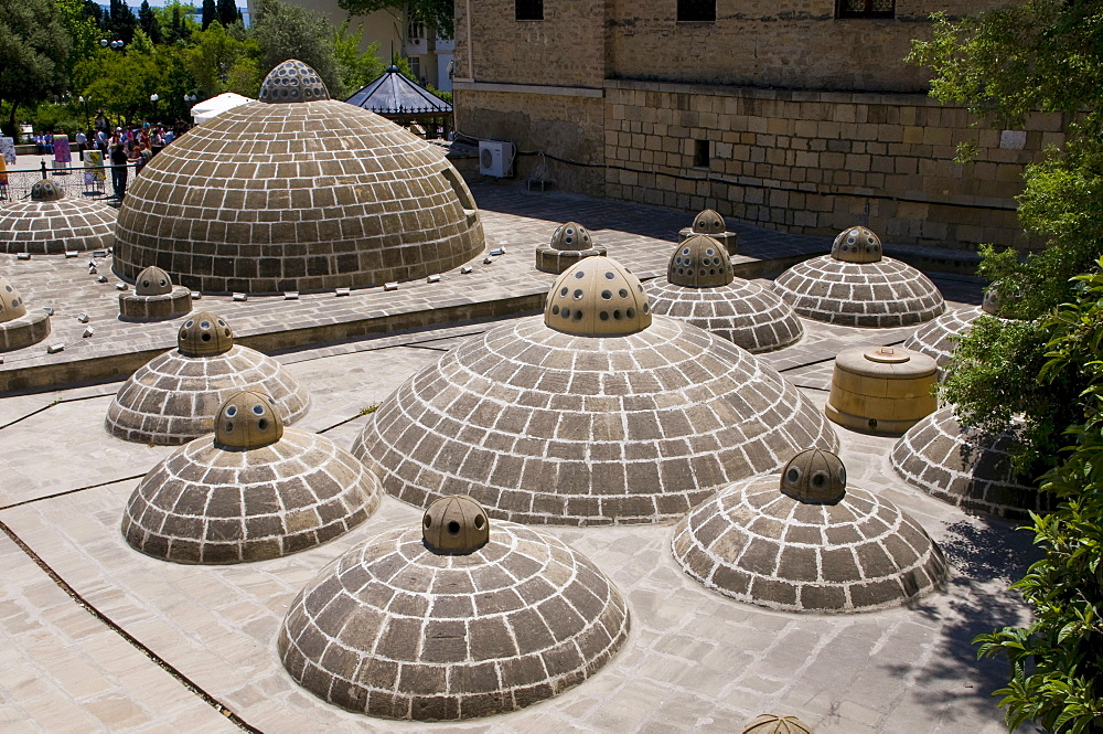 Historic hammam in the city centre, Baku, Azerbaijan, Caucasus region, Middle East