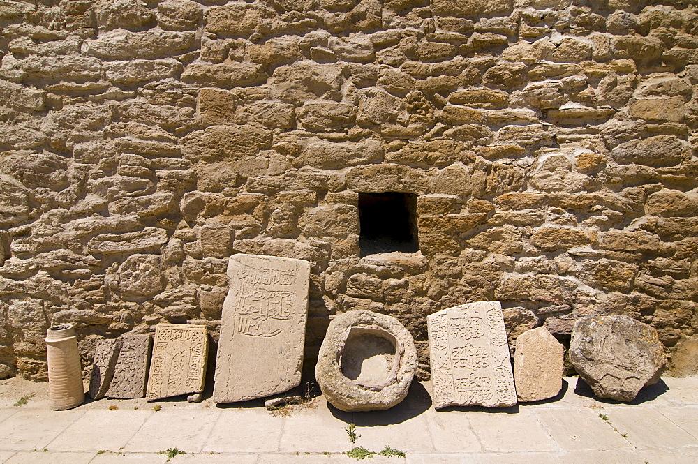 Baku Ateshgah, fire temple of the Zoroastrian religion, Abseron peninsula, Azerbaijan, Caucasus Region, Eurasia