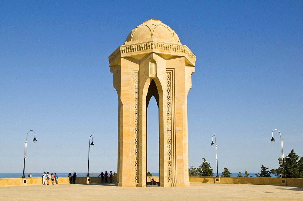 Sahidler Xiyabani, Martyrs' Memorial, Martyrs' Lane, Alley of Martyrs, Kirov Park, Baku, Azerbaijan, Middle East