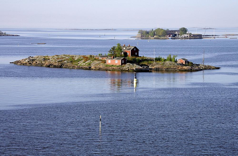 Island archipelago, Helsinki, Finland, Europe