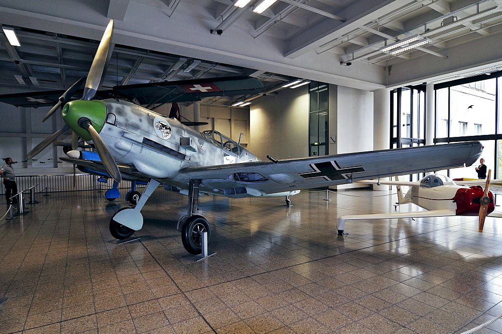 Messerschmitt ME-109 plane, Deutsches Museum German museum, Munich, Bavaria, Germany, Europe
