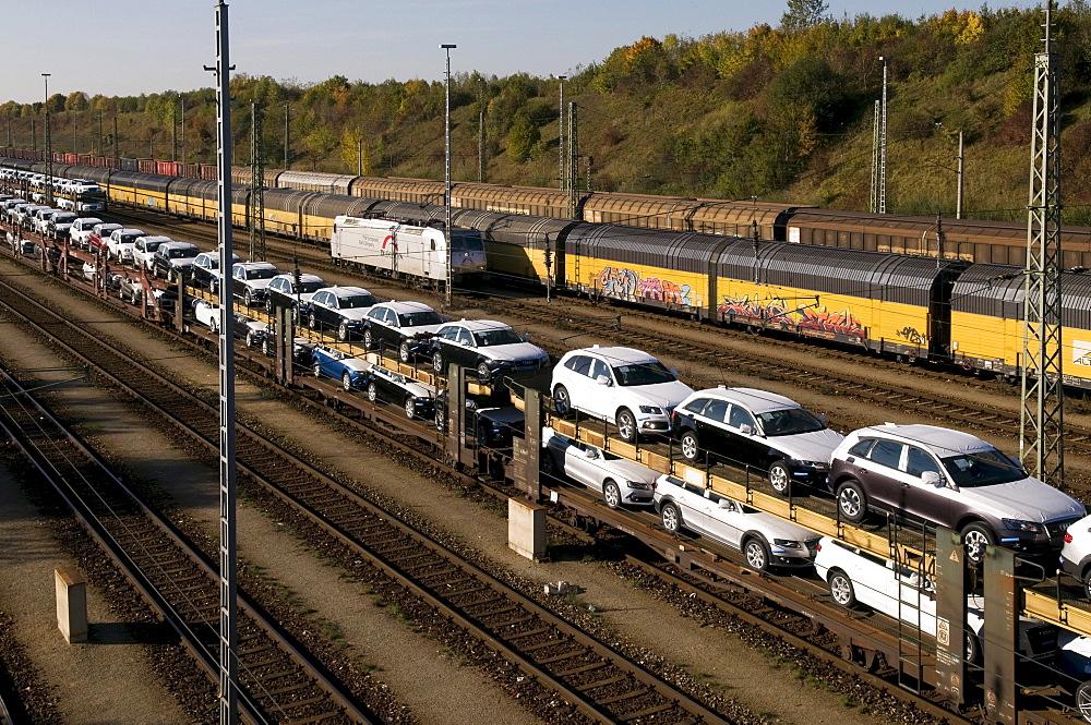 Switch yard Munich Nord, through station, Munich, Bavaria, Germany, Europe