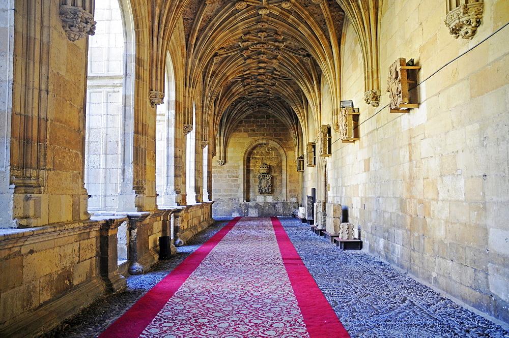 Cloister, church, museum, San Marcos, a former monastery, Plaza San Marcos, Leon, province of Castilla y Leon, Castile and Leon, Spain, Europe