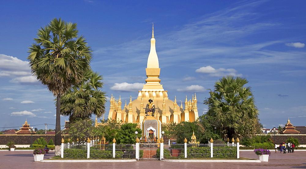 Pha Tat Luang, Pha That Luang, Vientiane, Laos, Southeast Asia