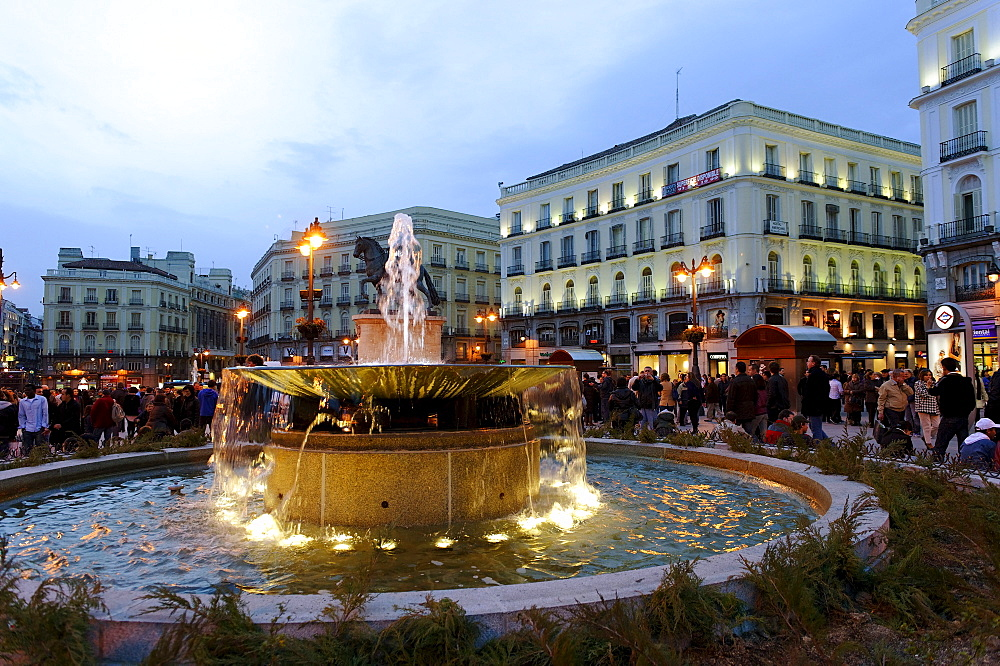 High quality stock photos of plaza puerto del sol for Plaza del sol madrid