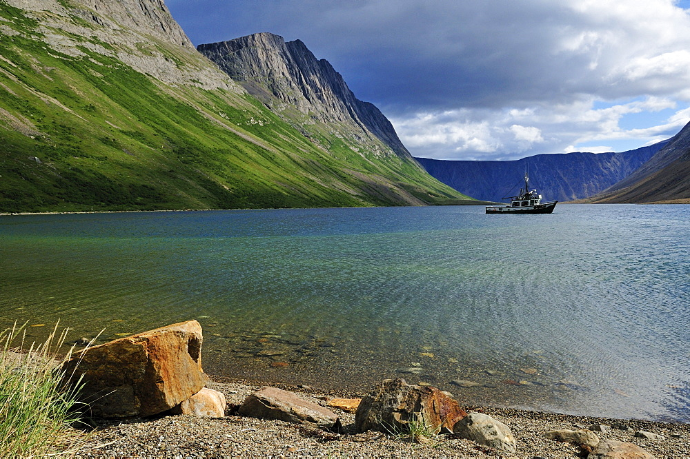 North Arm of Saglek Fjord, Torngat Mountains National Park, Newfoundland and Labrador, Canada
