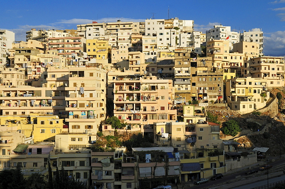 Cityscape at Tripoli, Tarabulus, Lebanon, Middle East, West Asia