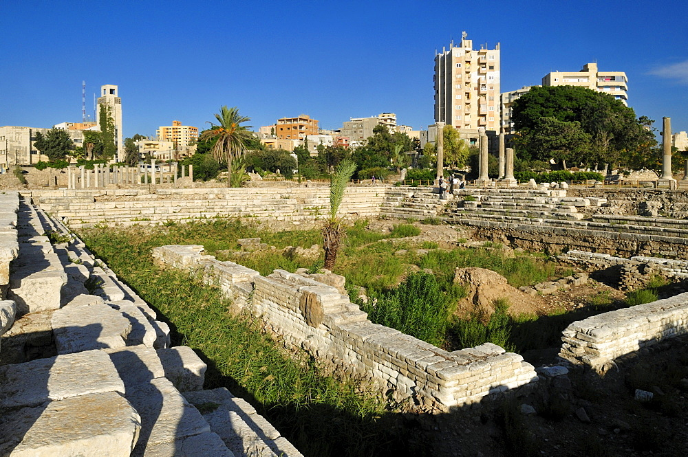 Archeological site of Tyros, Tyre, Sour, Unesco World Heritage Site, Lebanon, Middle East, West Asia