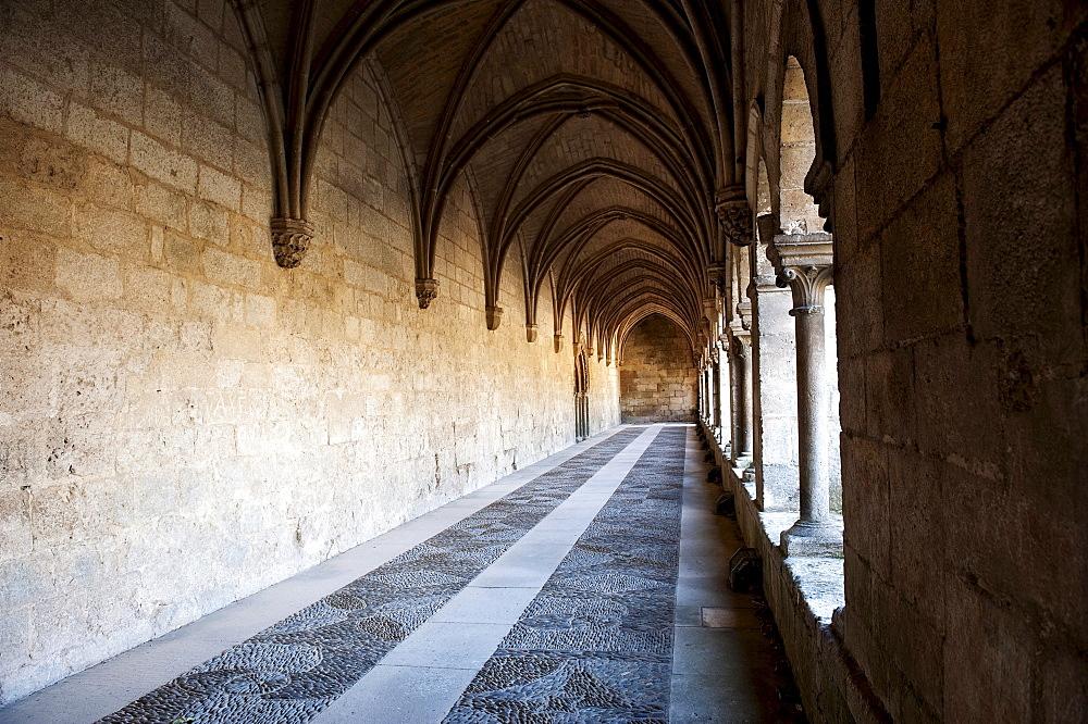 Cistercian monastery, Real Monasterio de Las Huelgas, Burgos, Castilla y Leon, Spain, Europe