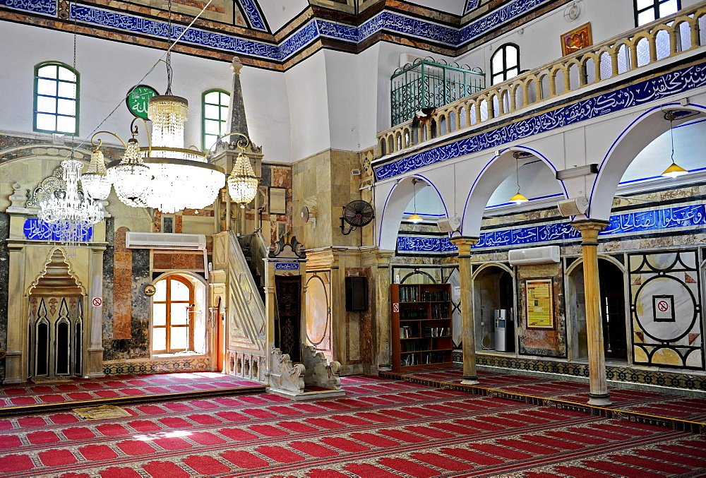 El-Jazzar Mosque, Acre, Israel, Middle East, Southwest Asia