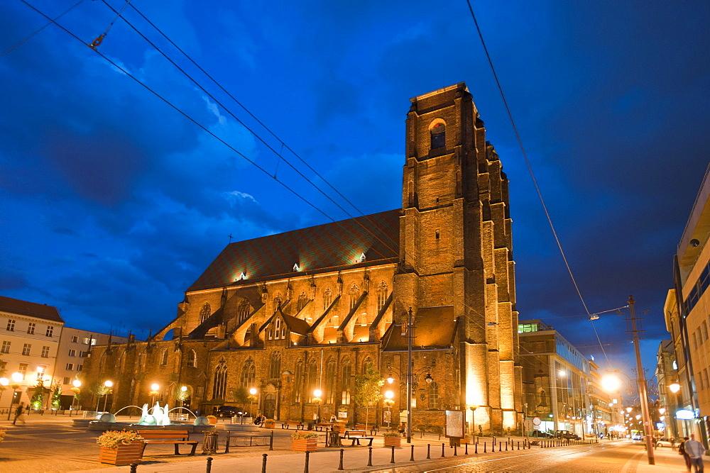 Maria Magdalena church, SW. Marii Magdaleny, Wroclaw, Lower Silesia, Poland, Europe