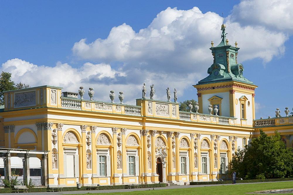 Wilanow Palace, Warsaw, Mazowieckie, Poland, Europe