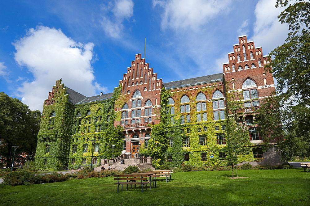 University Library, Lund, Skane, Sweden, Europe