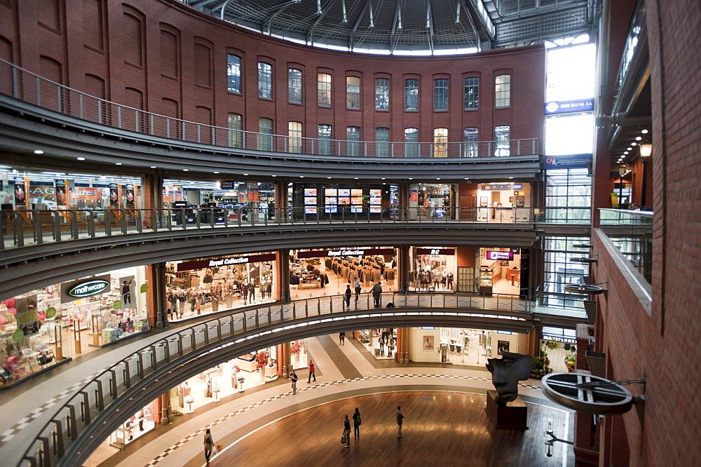 Shopping centre Stary Browar in a former brewery, Poznan, Wielkopolska, Poland, Europe