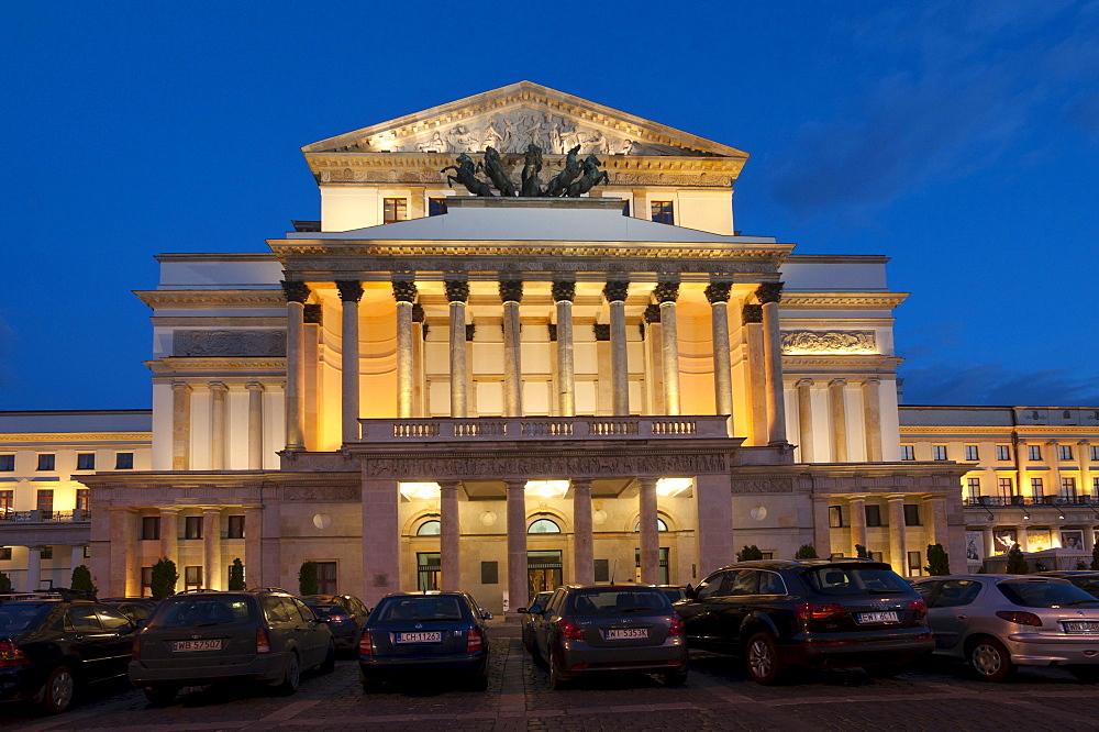 Wielki Theatre, Warsaw, Mazowieckie, Poland, Europe