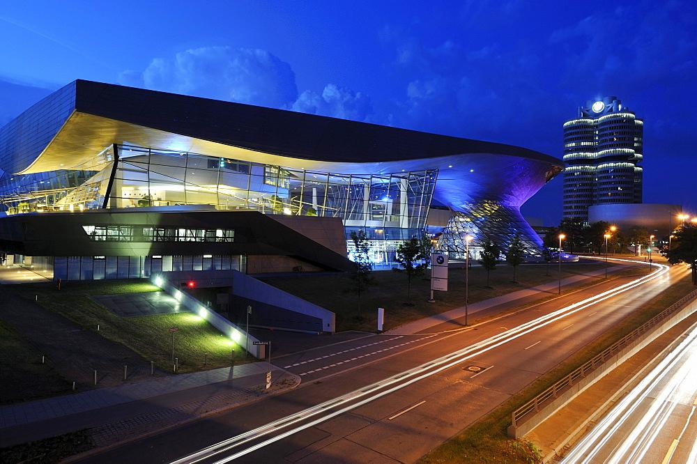 BMW-Welt exhibition building in Munich, Upper Bavaria, Bavaria, Germany, Europe