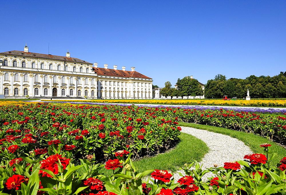New Schleissheim Palace, Munich, Upper Bavaria, Bavaria, Germany, Europe