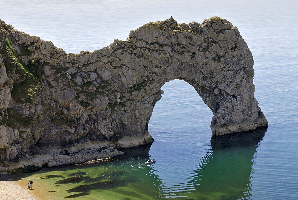 Durdle Door Arch, Lulworth, Dorset, southern England, England, United Kingdom, Europe