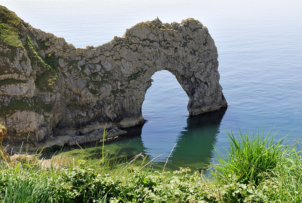 Durdle Door Arch, Lulworth, Dorset, southern England, England, UK, Europe