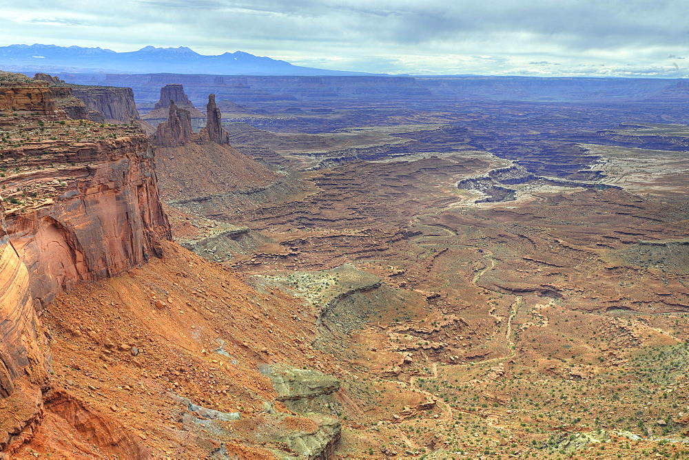 Buck Canyon, Island in the Sky, Canyonlands National Park, Moab, Utah, USA, America