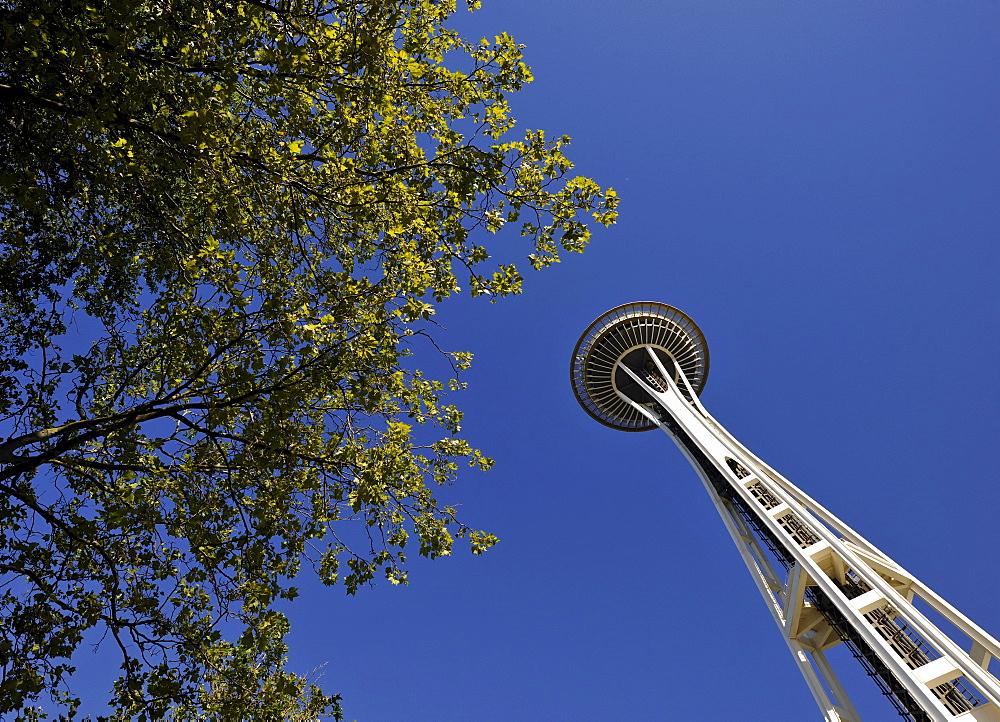 Space Needle, Seattle Center, Seattle, Washington, United States of America, USA