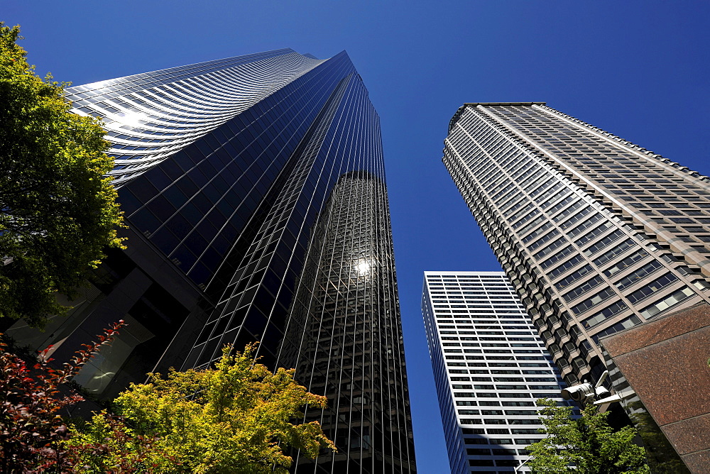 Columbia Center, formerly known as Bank of America Tower, Municipal Tower, formerly Key Tower, Seattle, Washington, United States of America, USA