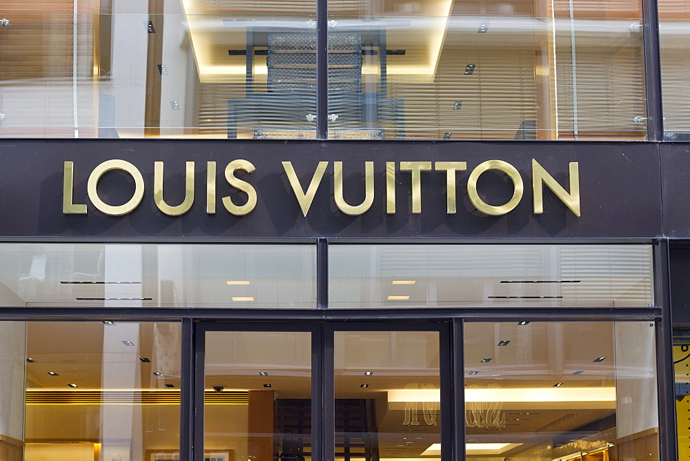 Louis Vuitton, luxury shop, Neuer Wall, Hamburg, Germany, Europe - 832-124236