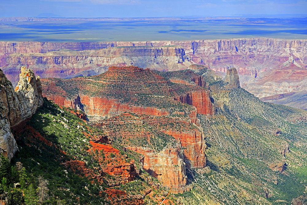 Evening mood, Grand Canyon North Rim, Arizona, USA, America