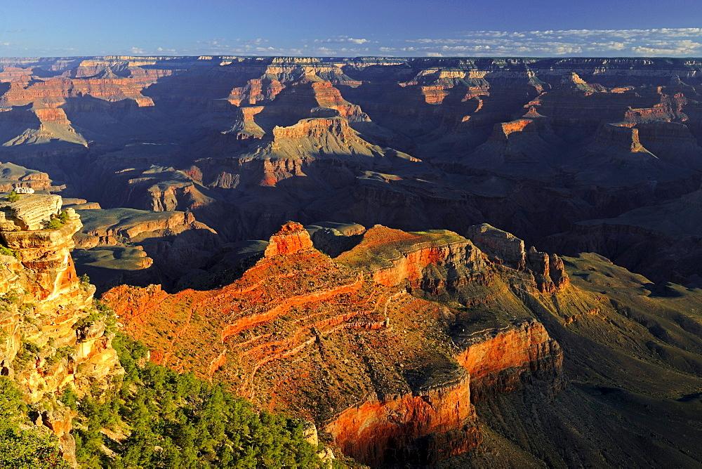 Morning at Yaki Point, Grand Canyon South Rim, South Rim, Arizona, United States, America