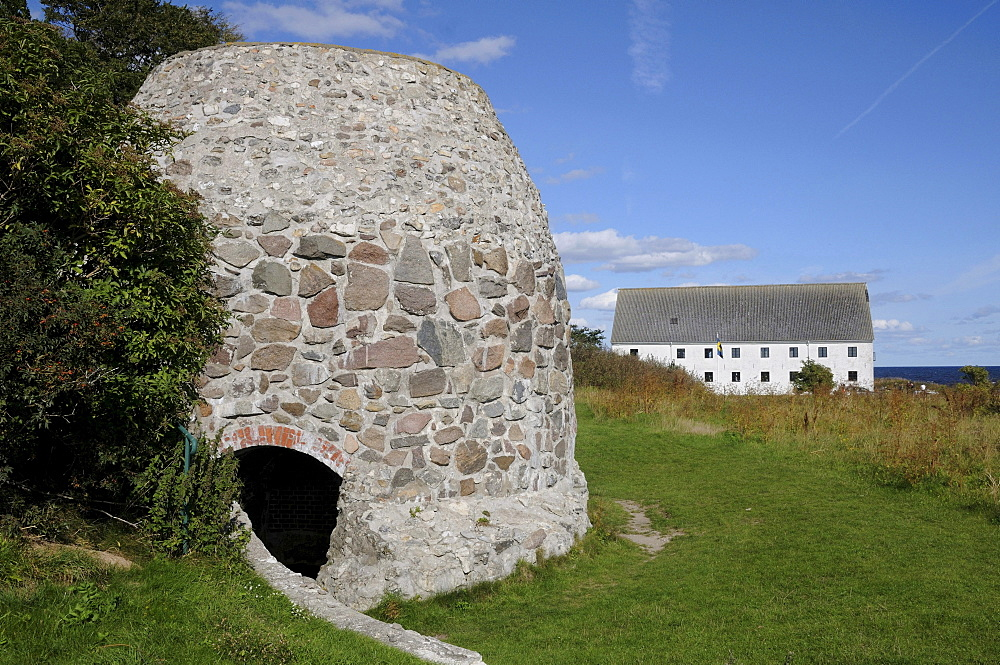 Lime kiln at Smygehuk, southernmost place of Sweden, Europe