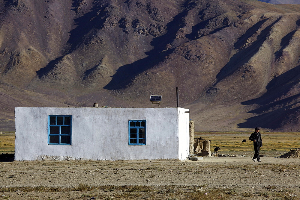 House in Bulunkul, Pamir, Tajikistan, Central Asia