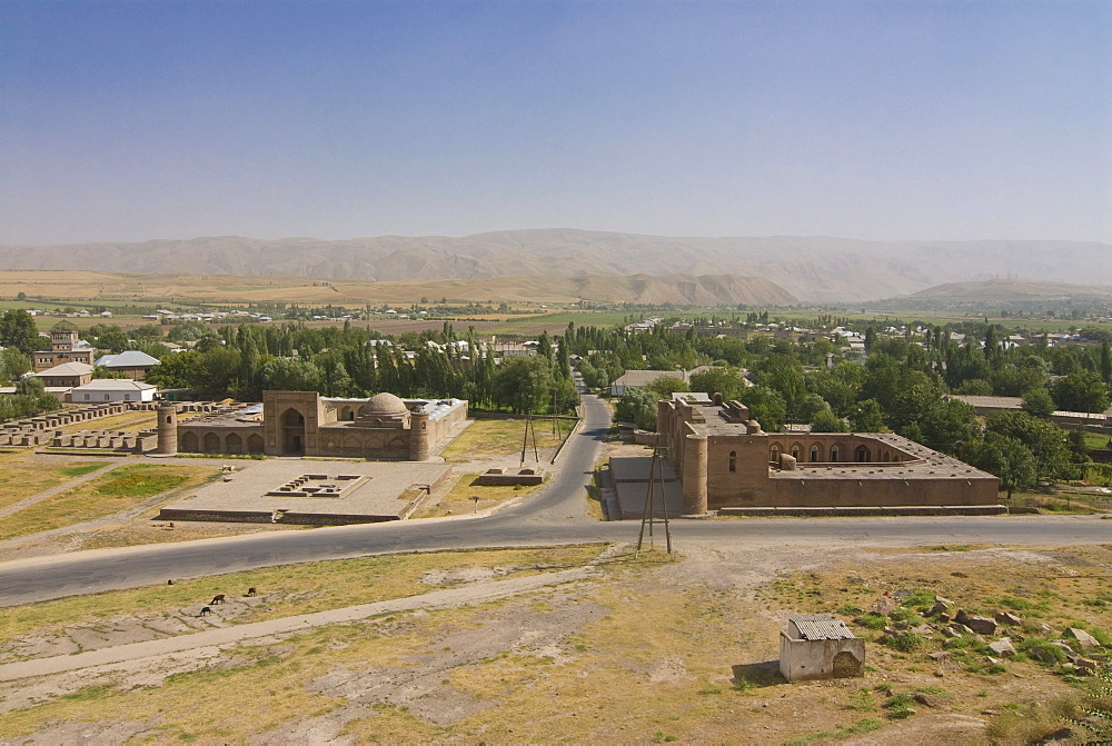 Fortress of Hissar, Tajikistan, Central Asia
