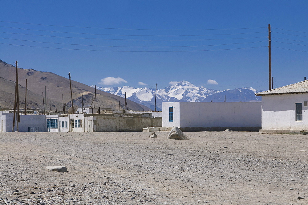 Karakul village, Pamir Mountains, Tajikistan, Central Asia