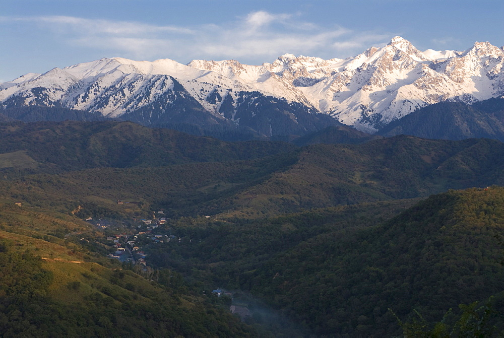 View of the Altai Mountains, Kazakhstan, Central Asia