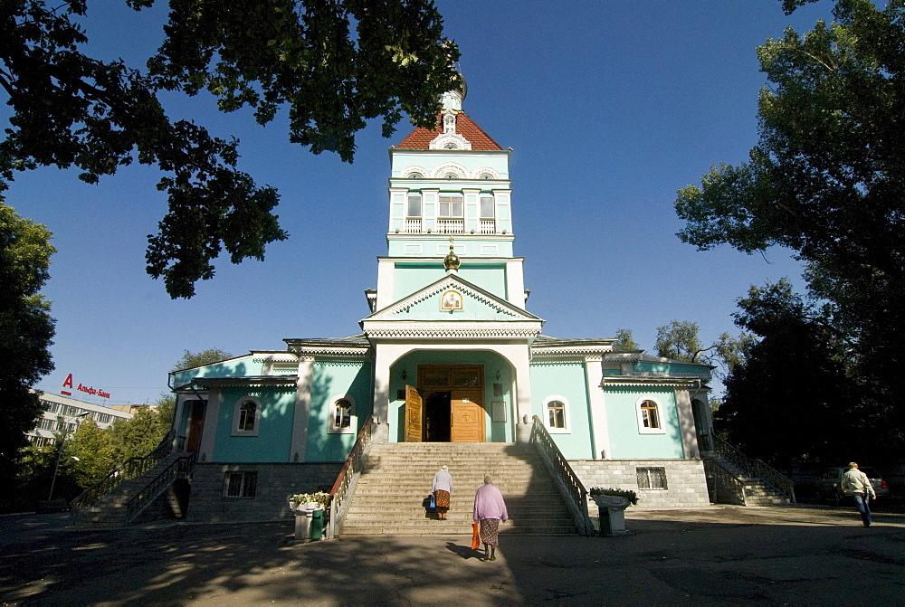 St. Nicholas Cathedral, Almaty, Kazakhstan, Central Asia
