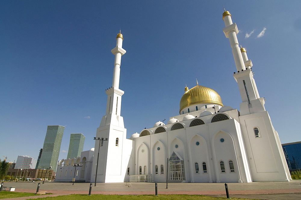 Islamic Center and Nur-Astana Mosque, Astana, Kazakhstan, Central Asia