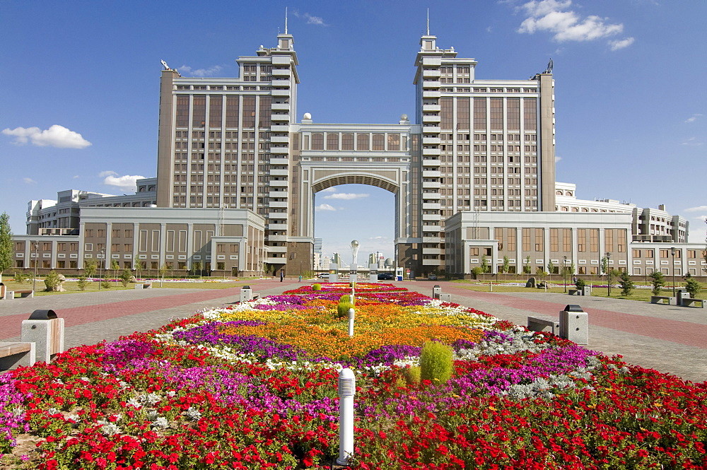 Kaz Munai Gas building, Astana, Kazakhstan, Central Asia