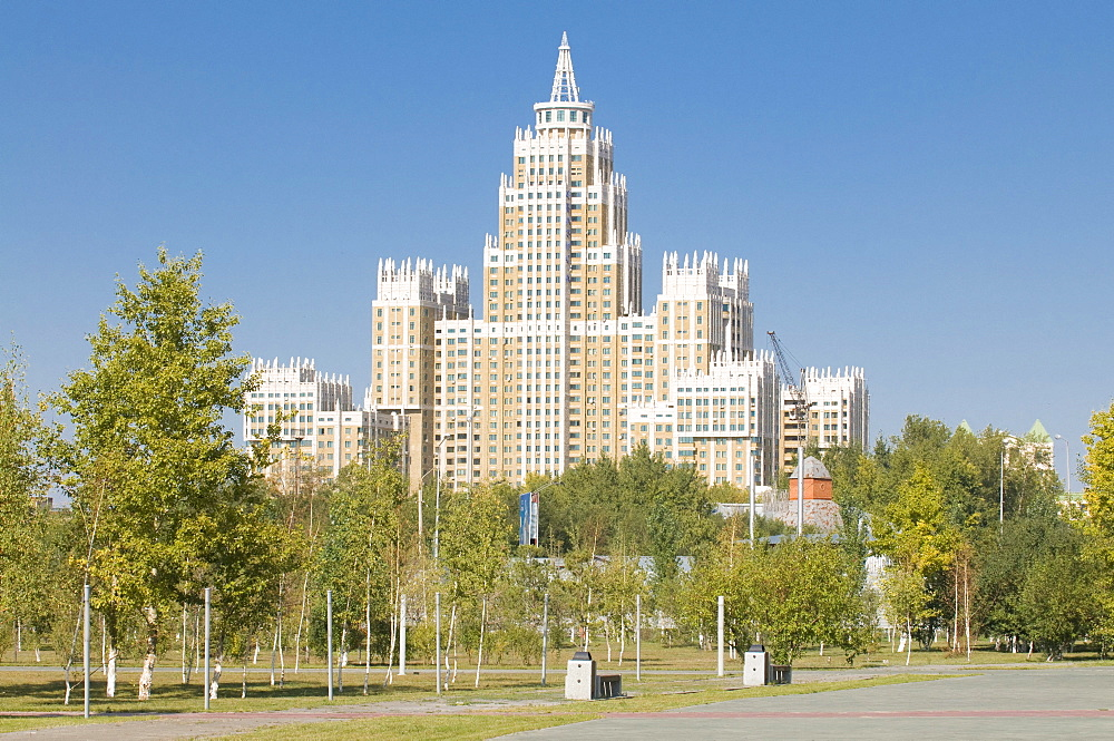 Triumph of Astana building, Astana, Kazakhstan, Central Asia