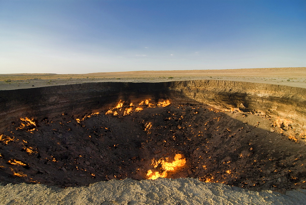 Darvaza Gas crater, Turkmenistan, Central Asia