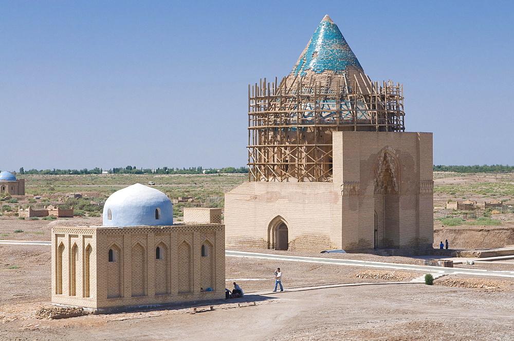 Mosque in Konye-Urgench, Turkmenistan, Central Asia